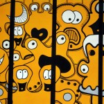 Aliens in jailhouse, détail