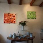 Exposition 4 et 5 Juillet à Pussigny, vue de la salle